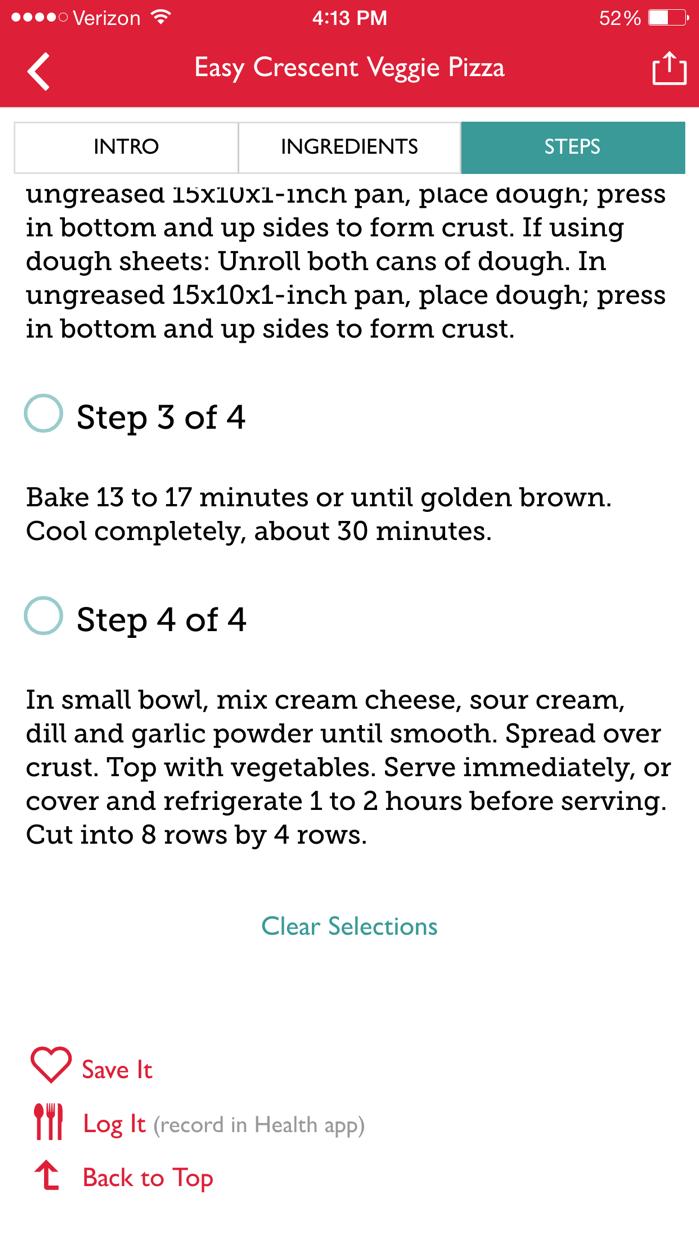 The Betty Crocker Cookbook – Kitchen-Tested Recipes Screenshot