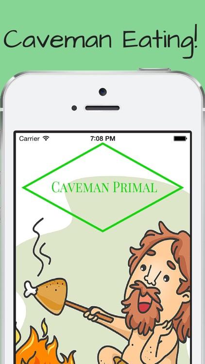 Caveman Paleo Primal Recipes Cookbook
