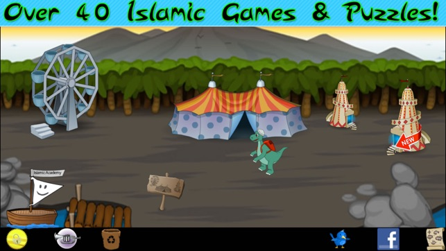 Islamic Quiz & Games - the Number 1 App for Muslim Kids on