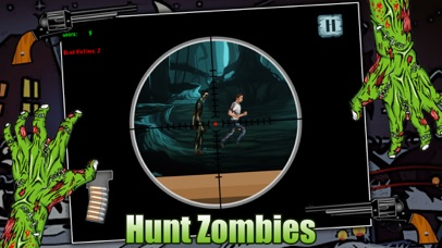 Zombie Attack Sniper Shooting Game FREE screenshot two