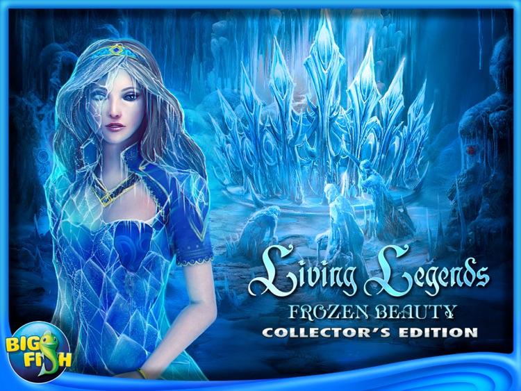 Living Legends: Frozen Beauty HD - A Hidden Object Fairy Tale (Full) screenshot-4