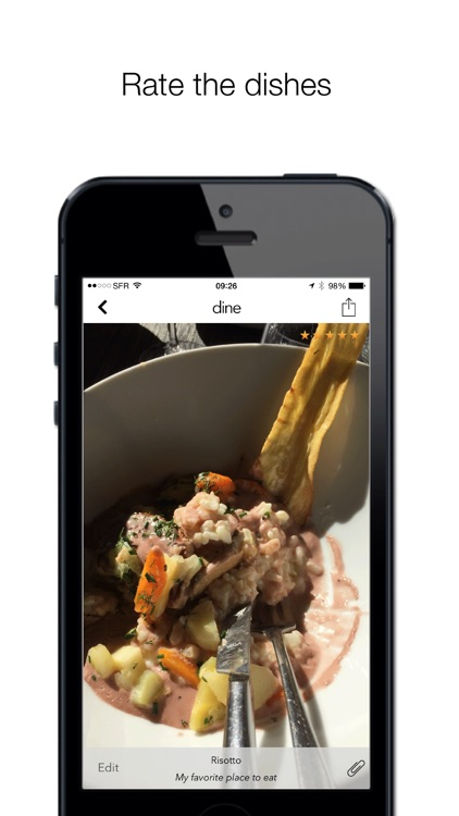 Dine - your restaurant notebook