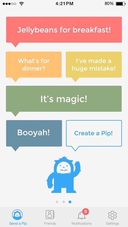 Pip – messaging made easy screenshot-4