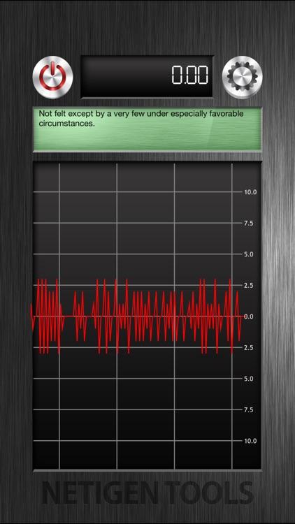 The Best Vibration Meter + screenshot-3