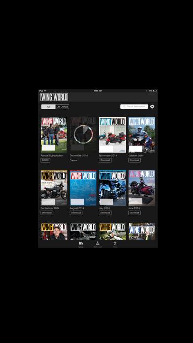 Wing World Screenshot