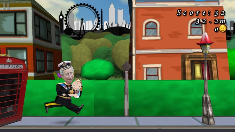Royal Baby Run! Keep Calm And Carry On RUNNING! (FREE Edition) screenshot-3