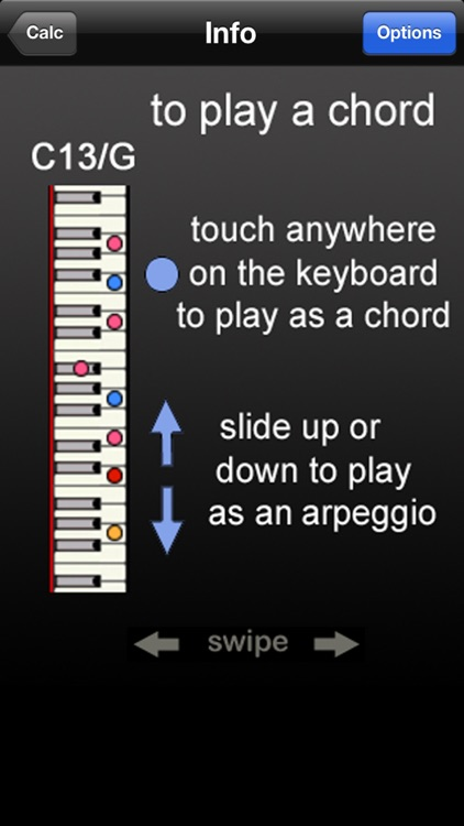FastChords - piano chords calculator screenshot-3