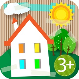 HugDug Houses - Little kids build their own house and make art with amazing stickers