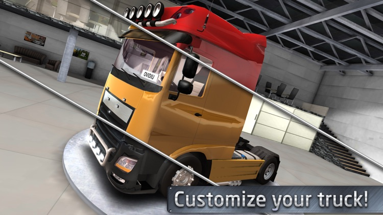 Euro Truck Driver (Simulator) screenshot-3
