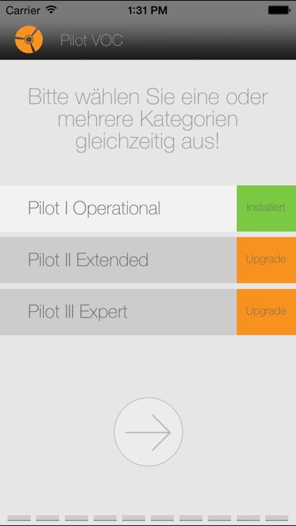 Pilot Vocabulary Trainer D-E