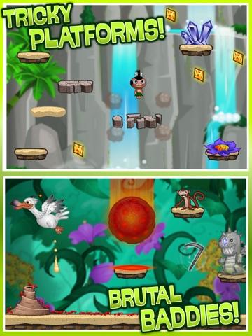 Pocket God: Ooga Jump ipad images
