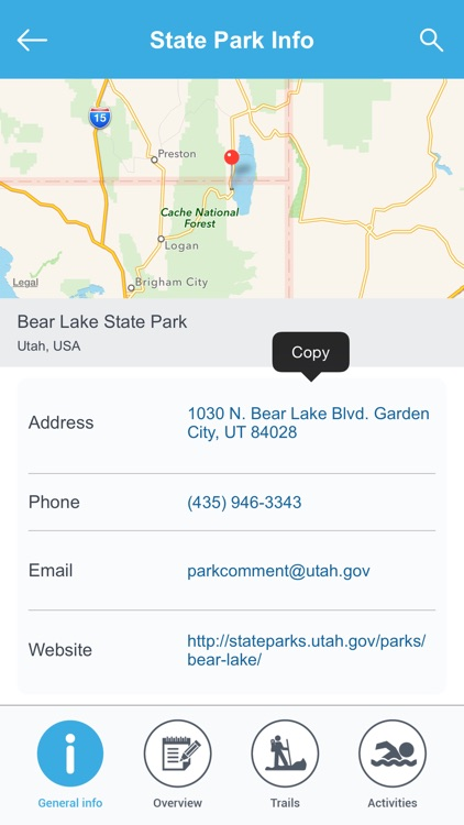 Utah National Parks & State Parks screenshot-2
