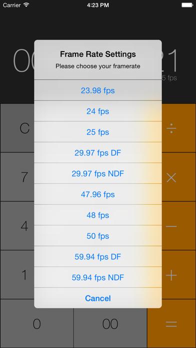 Simple Timecode Calculatorのおすすめ画像5