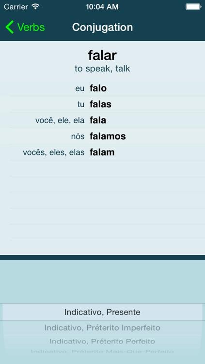 Portuguese Verbs +