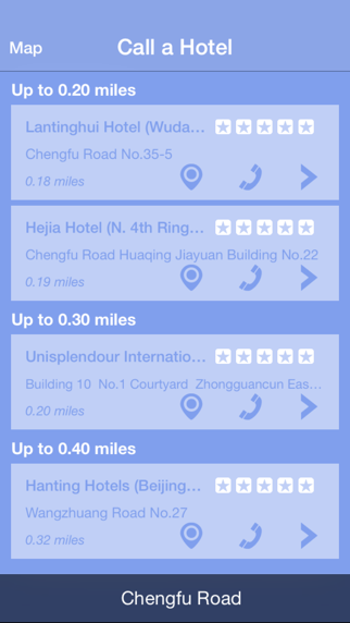 Call a Hotel - Instantly find accomodation, anytime, anywhere. Screenshot 2