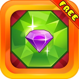Jewel Moonstruck : - A fun match 3 game of colorful jewels for Christmas season.