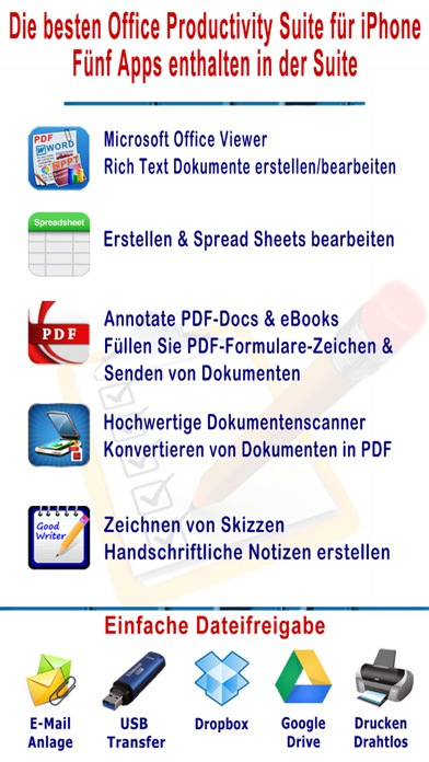 myOffice - Microsoft Office Edition, Office Viewer, Word Processor and PDF MakerScreenshot von 1