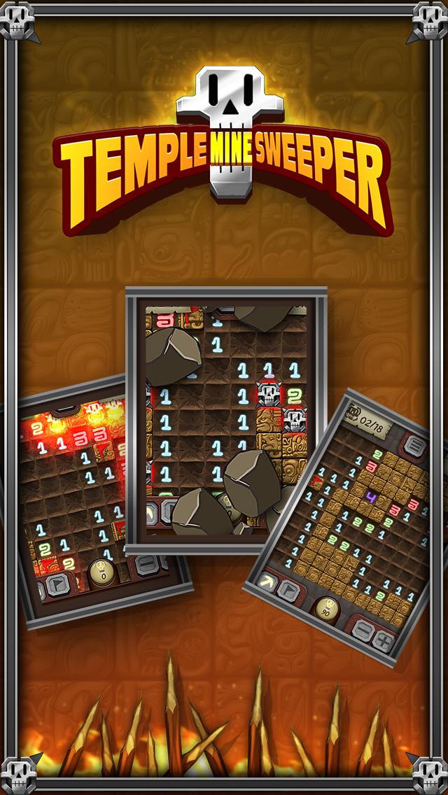 Temple Minesweeper - El Dorado Adventure with Mine Sweeper Gameplay screenshot one