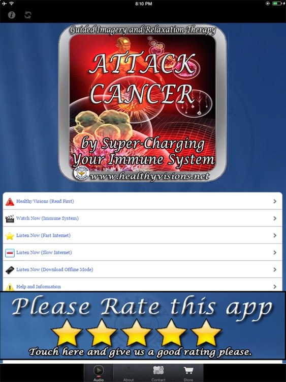 Attack Cancer for iPad screenshot-0