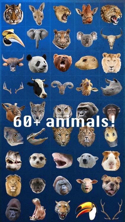 Animal Face Photo Booth screenshot-3