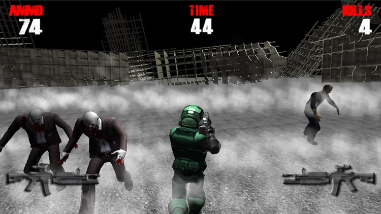 Zombie Road Mission screenshot-1