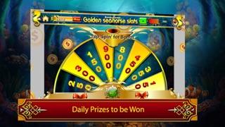Golden seahorse progressive slotmachine: deep ocean adventure with plenty of treasure! screenshot four