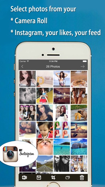 FlipPics - Video SlideShow Maker for Instagram with music screenshot-2