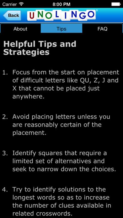 Unolingo: Crosswords Without Clues screenshot four