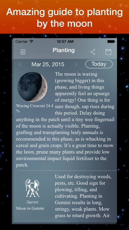 Moon Phase Calendar . screenshot-3