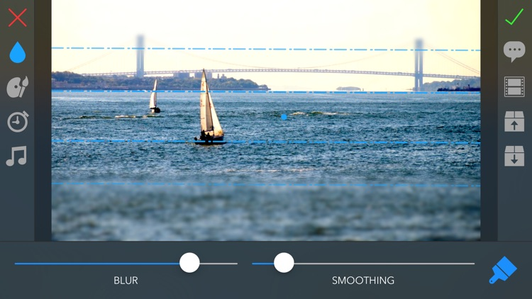 TiltShift Video - Miniature effect for movies and photos screenshot-3