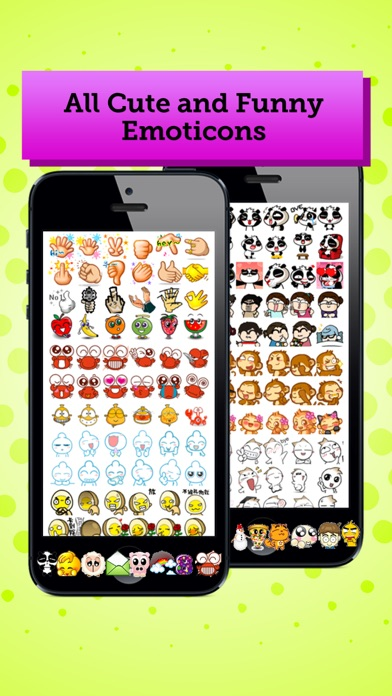 Screenshot for AniEmoticons Pro in Lebanon App Store