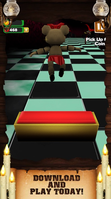 Creepy Monster Run Horror - Awesome Scary Hunter Dash Game For Teen Boys Free Screenshot