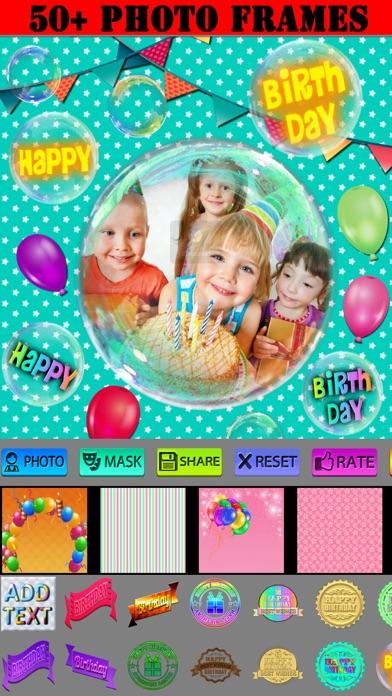 Alles Gute zum Geburtstag Frames und IconsScreenshot von 1
