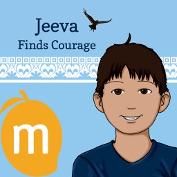 Jeeva Finds Courage - Yoga stories for children with yoga practice for kids and interactive learning and memorization