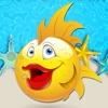 子供のための魚のスライド世界のパズルゲーム。