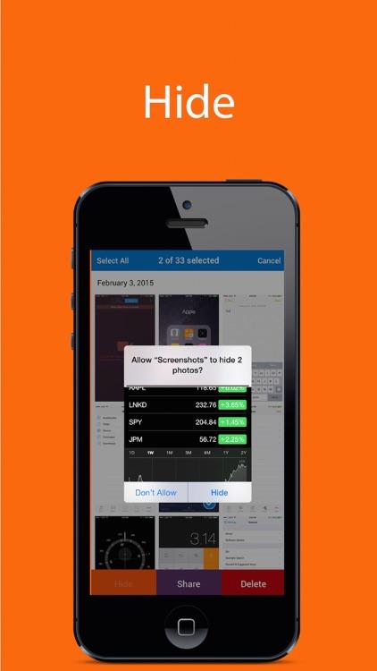 Screenshots - Find, Share, and Delete Screenshots screenshot-4