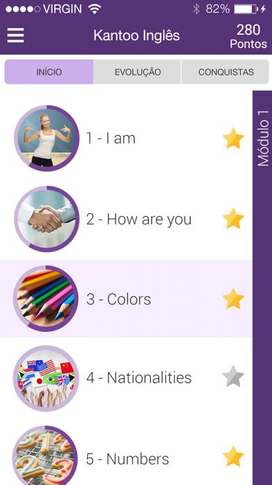 Kantoo Inglês Screenshot