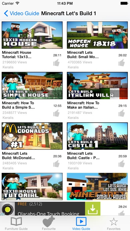 Guide for Minecraft Furniture screenshot-3
