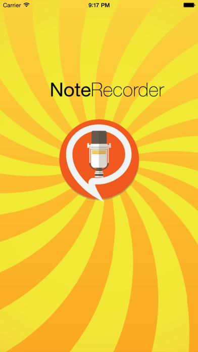 Screenshot of Note Recorder1