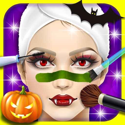 Halloween SPA, dress design - kids games