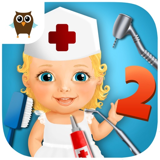 Sweet Baby Girl Kids Hospital 2 – Allergy Emergency, Broken Leg, Dentist Office and Ear Doctor icon