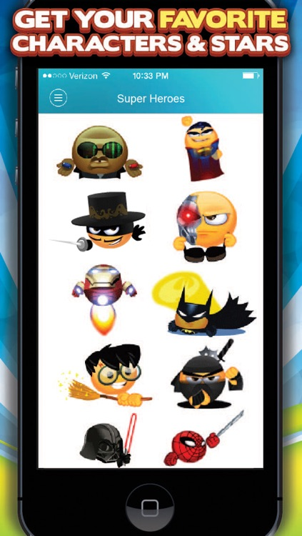 3D Animated Emoticons - Keyboard for iPhone + iPad screenshot-3