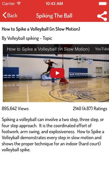 Volleyball Guide screenshot-3