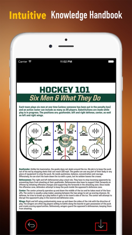 Ice Hockey 101: Quick Study Reference with Video Lessons and Glossary screenshot-0