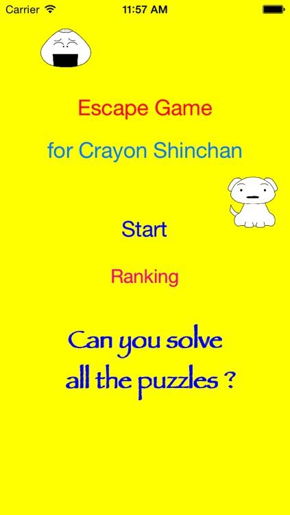 Escape Games for Crayon Shinchan