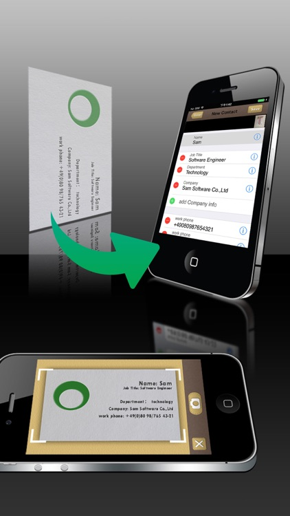 SamCard-Card Reader&business card scanner&visiting