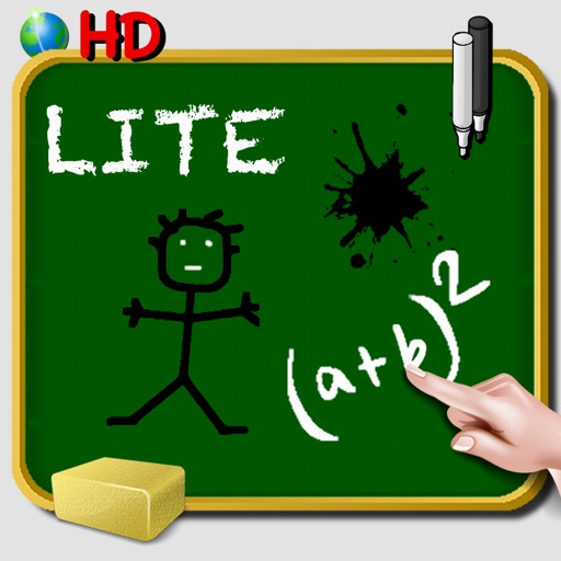 School Blackboard iPad - Write note draw doodle and color - Handwriting - Free