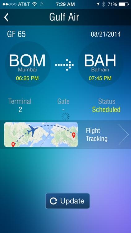 Bahrain Airport - Flight Tracker Premium Gulf Air screenshot-3