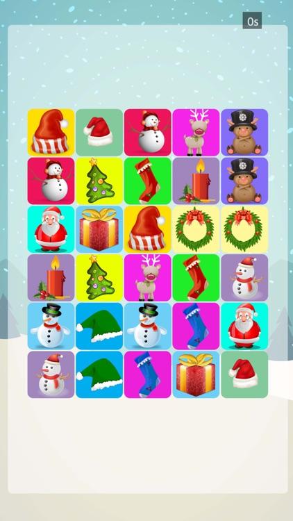 Christmas Match Pairs - Memory Training Game