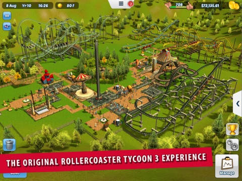 Screenshot #1 for RollerCoaster Tycoon® 3